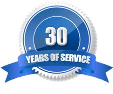 Over 30 Years of Service