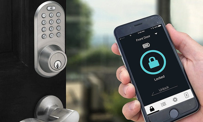 Keyless Entry Smart Door Lock Charlotte Nc Access Locksmith